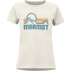 Marmot Coastal T-shirt Dames, new turtledove heather